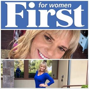 Featured in First for Woman Magazine Feb 17, 2019
